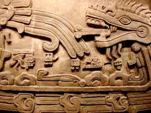 Überbleibsel der Maya, der alten Kultur Mexikos