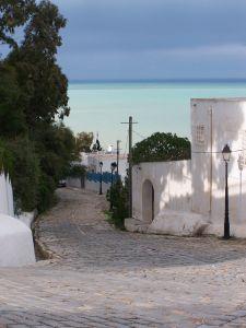 Photomotiv: weiße Strände und blaues Meer in Tunesien